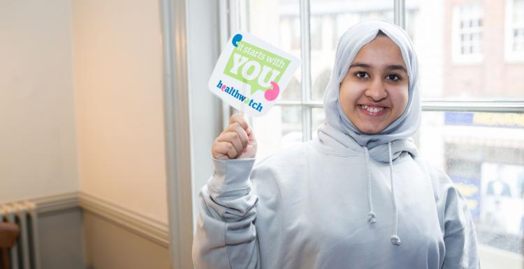 Young healthwatch member