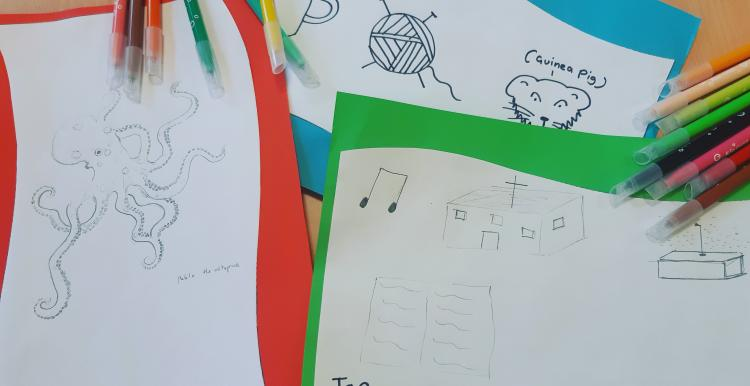 Young Healthwatch Drawings