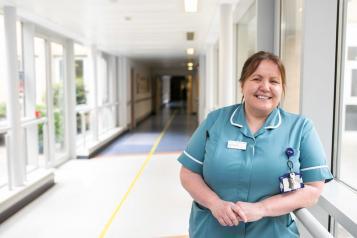 a nurse at a hospital