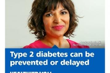 Type 2 diabetes can be prevented or delayed