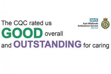 "EMAS CQC results: ""The CQC rated us GOOD overall and OUTSTANDING for caring"""