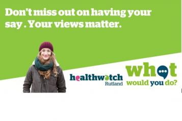 """What Would You Do banner - """"Don't miss out on having your say. Your views matter"""""""