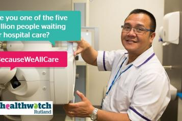 Are you one of the five million people waiting for hospital care?